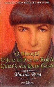 Livro Novico, o Autor Pena, Martins [usado]