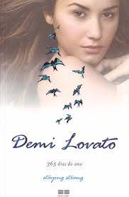 Livro 365 Dias do Ano Staying Strong Autor Lovato, Demi (2013) [usado]
