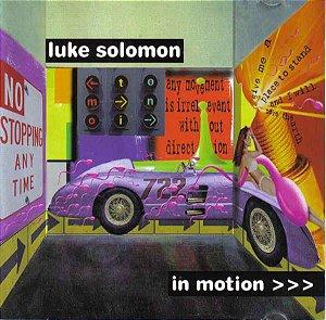 Cd Luke Solomon - In Motion Interprete Luke Solomon (1998) [usado]