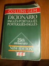 Livro Collins Gem Dicionario Ingles Portugues Portugues Ingles Autor Collins, William (1986) [usado]