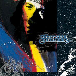 Disco de Vinil Santana - Spirits Dancing In The Flesh Interprete Santana (1990) [usado]