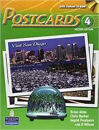 Livro Postcards 4 - With Student Cd-rom -second Edition Autor Abbs, Brian (2008) [usado]