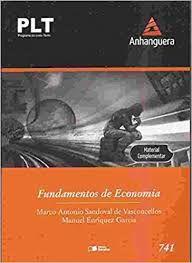 Livro Plt-741 : Fundamentos de Economia Autor Vasconcellos, Marco Antonio Sandoval de (2012) [usado]