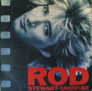 Disco de Vinil Rod Stewart - Camouflage Interprete Rod Stewart [usado]