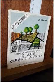 Livro o que é Questão Agrária - Coleção Primeiros Passos 18 Autor Silva, José Graziano da (1981) [usado]