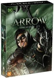 Dvd Arrow - 1ª a 4ª Temporadas Completas Editora Greg Berlanti, [usado]