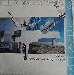 Disco de Vinil Elton John With The Melbourne Symphony Orchestra - Live In Australia Interprete Elton John With The Melbourne Symphony Orchestra (1987) [usado]