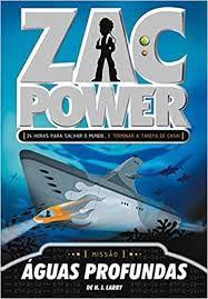 Livro Missão Águas Profundas - Zac Power Autor Larry, H. I. (2007) [usado]