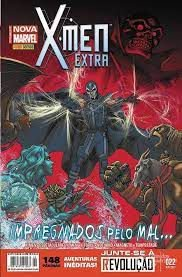 Gibi X-men Extra Nº 22 - Totalmente Nova Marvel Autor Impregnados pelo Mal... (2015) [usado]