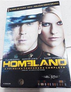 Dvd Homeland - 1ª Temporada Editora [usado]