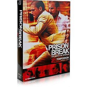 Dvd Dvd Prison Break 2ª Temporada (6 Dvds) Editora [usado]