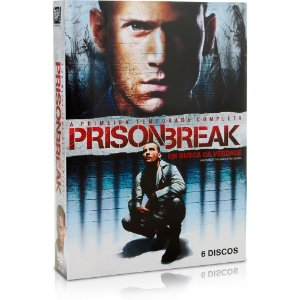 Dvd Dvd Prison Break - Primeira Temporada (6 Dvds) Editora [usado]