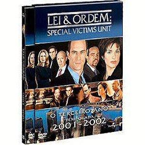 Dvd Lei & Ordem - Special Victims Unit - 3ª Temporada Editora [usado]