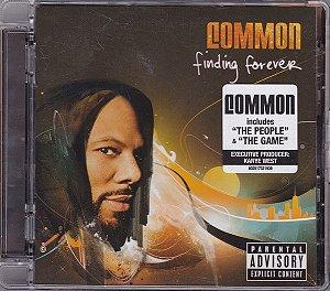 Cd Common - Finding Forever Interprete Common (2007) [usado]