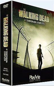 Dvd The Walking Dead- 4ª Temporada Editora Darabont, Frank [usado]
