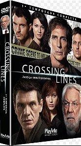Dvd Crossing Lines - Justiça sem Fronteiras (1ª Temporada Completa ) Editora [usado]