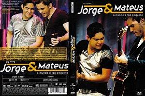 Dvd Jorge & Mateus - o Mundo é Tão Pequeno (ao Vivo) Editora Daniel Silveira [usado]