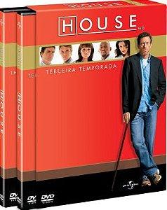 Dvd House - 3ª Temporada Editora [usado]
