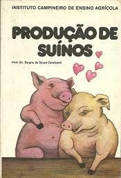 Livro Produção de Suínos Autor Cavalcanti, Prof. Dr. Sergito de Souza (1984) [usado]