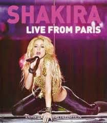 Dvd Shakira - Live From Paris Editora [usado]