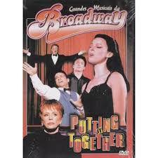 Dvd Grandes Musicais da Broadway: Putting It Together Editora [usado]