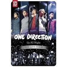 Dvd One Direction Up All Night: The Live Tour Editora [usado]