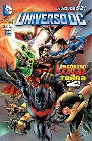 Gibi Universo Dc Nº 34 - Novos 52! Autor Encontro Fatal na Terra 2! (2015) [usado]