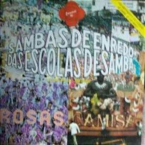 Disco de Vinil Sambas de Enredo das Escolas de Samba Grupo Especial -são Paulo-carnaval 1991 Interprete Varios (1990) [usado]