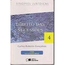 Livro Direito das Sucessões 4 Autor Gonçalves, Carlos Roberto (2000) [usado]