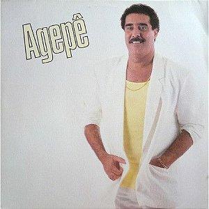 Disco de Vinil Agepê Interprete Agepê (1987) [usado]