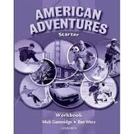 Livro American Adventures - Starter Workbook Autor Gammidge, Mick (2007) [usado]