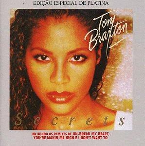 Cd Toni Braxton - Secrets (edição Especial de Platina) Interprete Toni Braxton -- Edição Especial de Platina (1997) [usado]