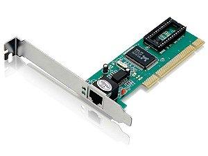 PLACA DE REDE PCI PLACA  GA131 PCI COM CONECTOR RJ45 FAST ETHERNET