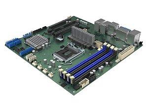PLACA MÃE SERVIDOR PLACA MÃE DBM10JNP2SB XEON E  DDR4 ECC UDIMM CHIPSET C246 LGA1151