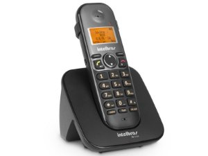 TELEFONE SEM FIO TELEFONE 4125120 TS 5120 PRETO DIGITAL VIVA VOZ IDENTIFICADOR DE CHAMADAS