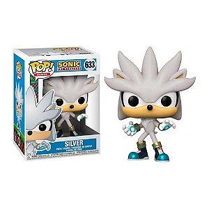 Boneco Funko Pop Sonic The Hedgehog Silver 633