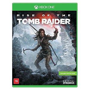 Rise Of The Tomb Raider (Seminovo) - Xbox One