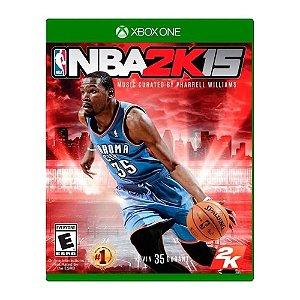Jogo NBA 2k15 Xbox One