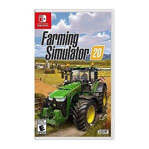 Jogo Farming Simulator 20 - Nintendo Switch