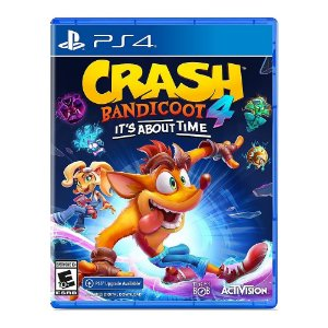 Crash Bandicoot 4: It's About Time - PS4 (seminovo)