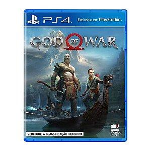 Jogo God Of War - PS4 (Seminovo)  Caixa Azul