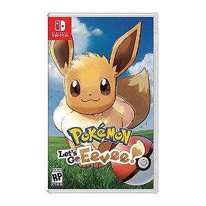 Jogo Pokemon: Let's Go Eevee - Nintendo Switch