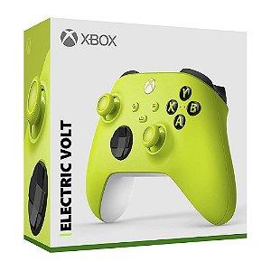 Controle Sem Fio Xbox Series Eletric Volt - Microsoft