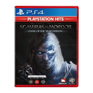 Jogo SOMBRAS DE MORDOR GOTY GAME OF THE YEAR EDITION PS4