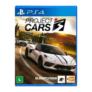 Jogo Project Cars 3 PS4