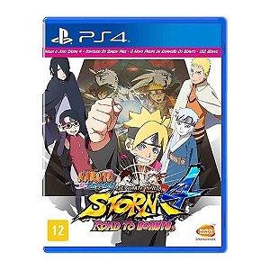Jogo Naruto Shippuden: Ultimate Ninja Storm 4 Road To Boruto PS4
