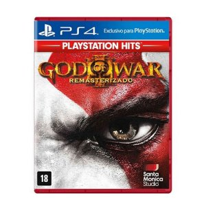 Jogo God Of War 3 Remasterizado Ps4
