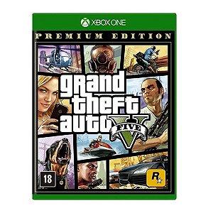Jogo Grand Theft Auto V (GTA 5) Premium Edition - Xbox One