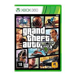 Jogo Gta V Grand Theft Auto 5 Xbox 360