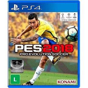 Jogo Pes 2018 PS4 (Seminovo)